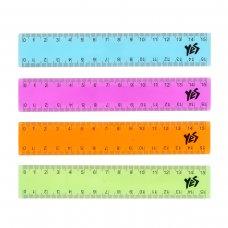 Plastic ruler YES, 15 cm