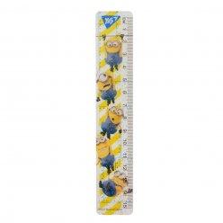 """Лінійка YES 15 см """"Minions"""""""