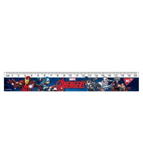 "Лінійка YES 20см ""Marvel"""