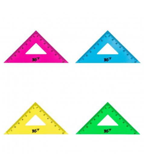 Трикутник YES рівнобедрений флюор. 8 см