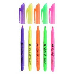 Маркер Highlighter YES Neon, 5 кольорів