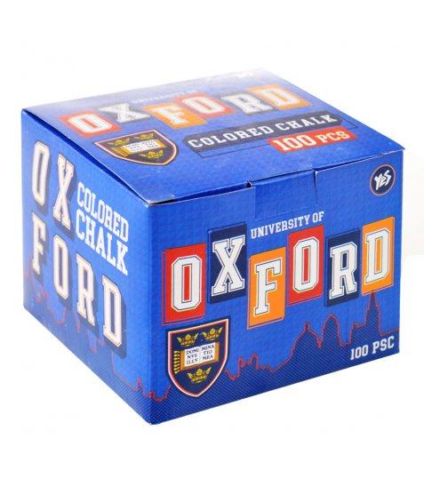 """Крейда кольорова квадратний 100 шт. """"Oxford"""""""