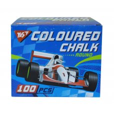 "Coloured chalk, round, 100 pcs ""Full power"""