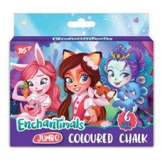 "Jumbo chalk, 6 pcs. ""Enchantimals """