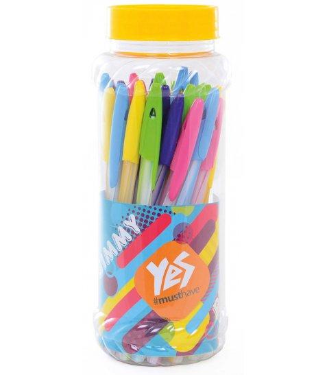 "Ручка кульк/масл ""Gimmy"" синя 0,6 мм"