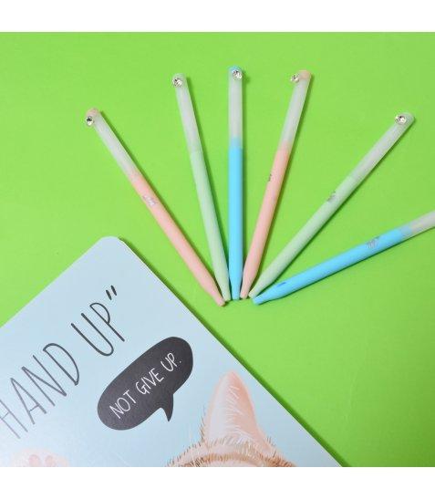 "Ручка YES шарико-масляна ""Crystal"", 0,7 мм, синя"