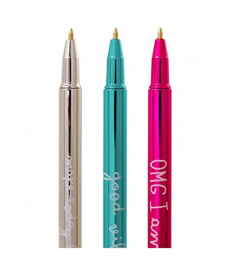 """Ручка кулькова YES """"Happy pen"""", 3 диз., 36шт/уп"""