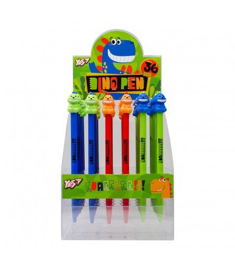 """Ручка кулькова YES """"Dino Pen"""", 0,7 мм, синя"""