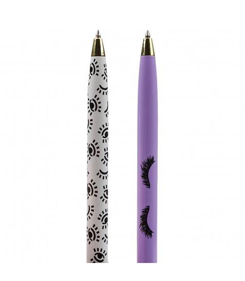 """Ручка кулькова поворотна зі стилусом YES """"Donna"""", 2 диз., 36шт/туб."""
