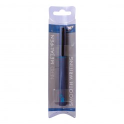 """Ручка кулькова YES """"Nerd"""" blue, 0,7 мм, синя"""