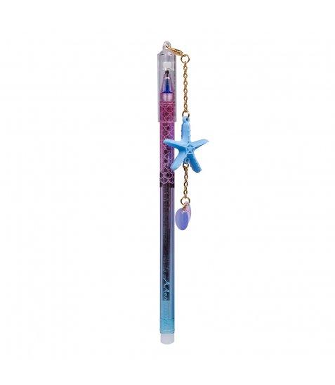 """Ручка гелева YES пиши-стирай """"Mermaid Magic""""  0,5 мм, синя"""