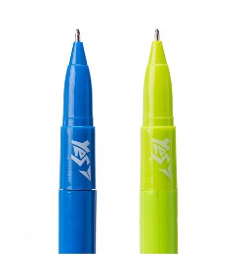 Ручка YES кульково-масляна «Monster Battle», 1,0мм, синя