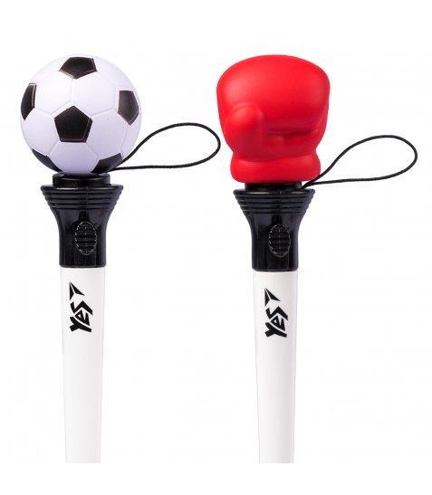 Ручка YES кульково-масляна «Funny Jump Sport», 1,0мм, синя