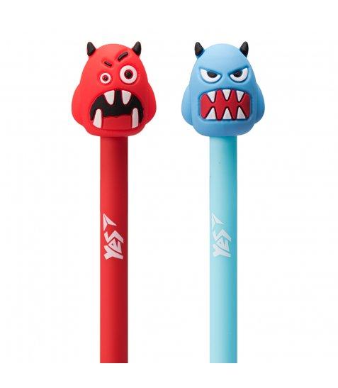 Ручка YES кульково-масляна «Monster Team», 0,8мм, синя
