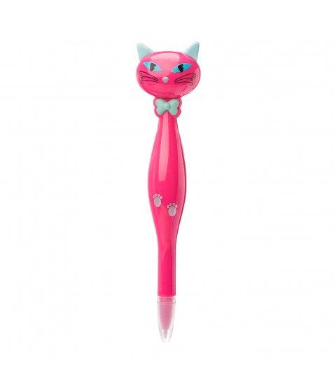 Ручка YES кульково-масляна «Lady Cat», 0,8мм, синя