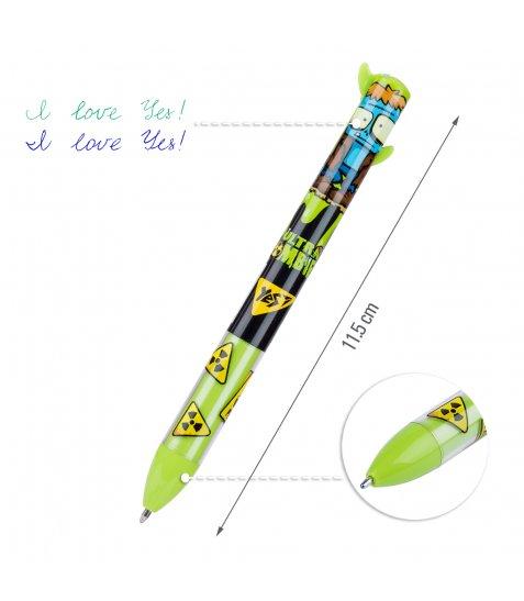 """Ручка кулькова YES """"Zombie"""", 1,0 мм, 2 кольорів"""