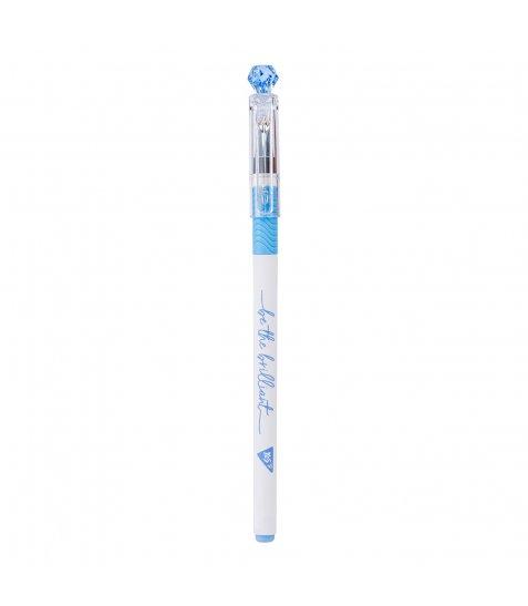 Ручка YES кульково-масляна «Little diamond», 0,7мм, синя