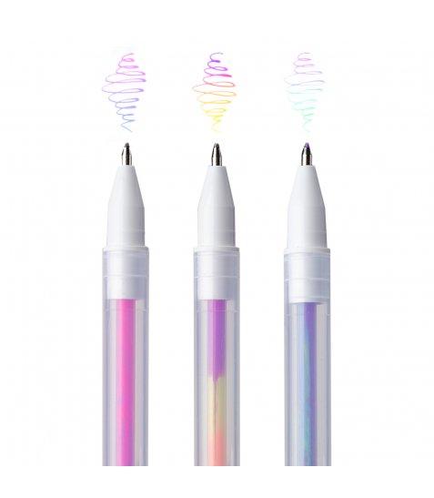 """Ручки гелеві  YES """"Swirl"""", набір, 3 шт."""