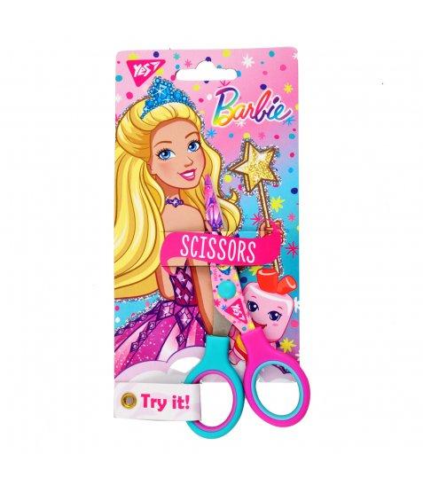 """Ножиці YES 13см, з принтом на лезі """"Barbie"""""""