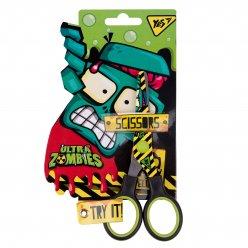 """Ножиці YES 13 см, з принтом на лезі  """"Zombie"""""""
