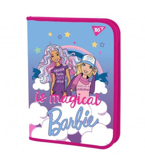 "Папка для зошитів YES пласт. на блискавці В5 ""Barbie"" - фото 1 з 2"