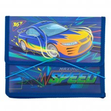 """Folder for copybooks plastic. with rubber band  В5 """"Speed Car"""""""