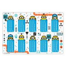 """Підкладка для столу дитяча """"Таблиця множення """"Minions"""""""