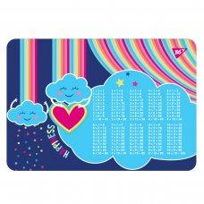 """Підкладка для столу YES """"Rainbow"""" табл.множ."""