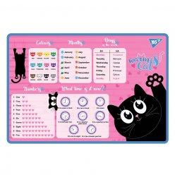 """Підкладка для столу YES """"Meow"""" English"""