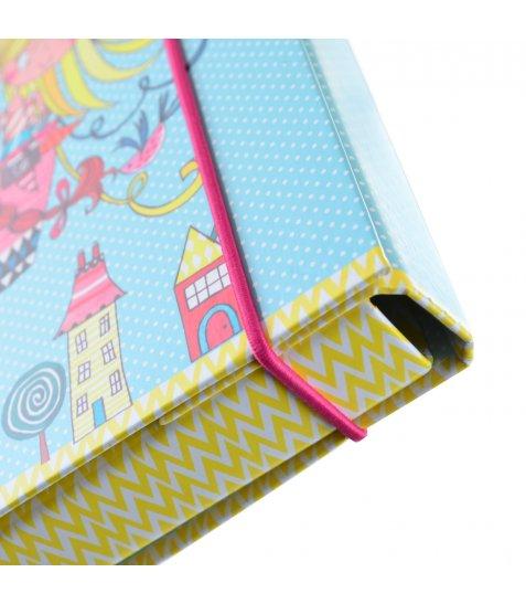 """Папка для зошитів картонна В5 """"Rachel Baloon"""" - фото 2 з 3"""