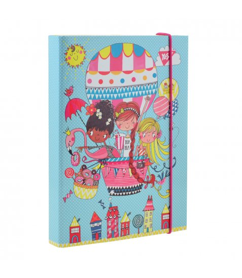 """Папка для зошитів картонна В5 """"Rachel Baloon"""" - фото 1 з 3"""