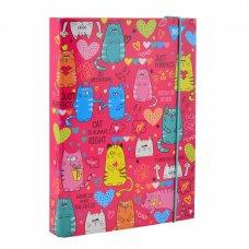 "Папка для зошитів картонна В5 ""Lovely Cats"""