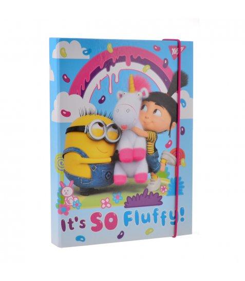 "Папка для зошитів картонна В5 ""Minions Fluffy"""