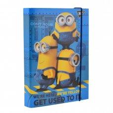 """Папка для зошитів картонна В5 """"Minions"""""""