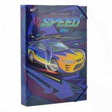 """Папка для праці YES картонна А4 """"Speed car"""""""