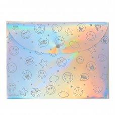 """Папка-конверт YES А4 """"Smiley World"""""""