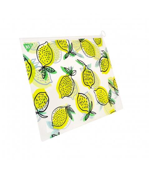 """Папка-конверт YES на блискавцi А4 """"Citrus"""" - фото 1 з 2"""