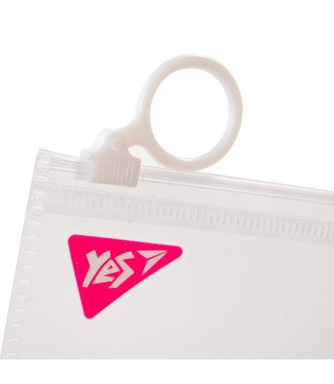 """Папка-конверт YES на блискавцi Check/Travel, """"Princess party"""""""