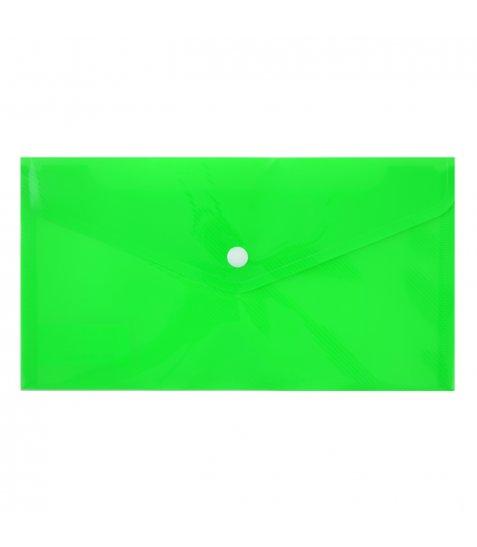 "Папка-конверт на кнопці А5 (26х14 см) ""Bright"", тревел"