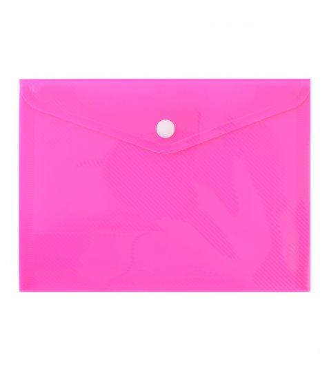"Папка-конверт на кнопці В6 (19,6х14,5см) ""Bright"""