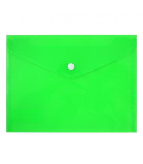 "Папка-конверт на кнопці А5 (24х18 см) ""Bright"""