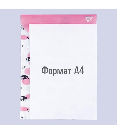 """Папка-конверт YES на кнопці А4 """"Donna"""", вертикальна - фото 2 з 2"""