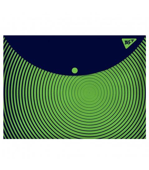 "Папка-конверт YES на кнопці А4  ""Labyrinth"""