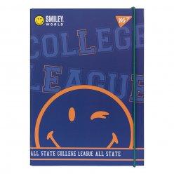 "Папка для зошитів YES картонна В5 ""Smiley World.College"""