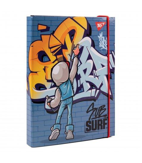 "Папка для зошитів YES картонна В5 ""SubSurf"" - фото 1 з 2"