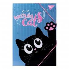 """Папка для праці YES картонна А4 """"Meow"""""""