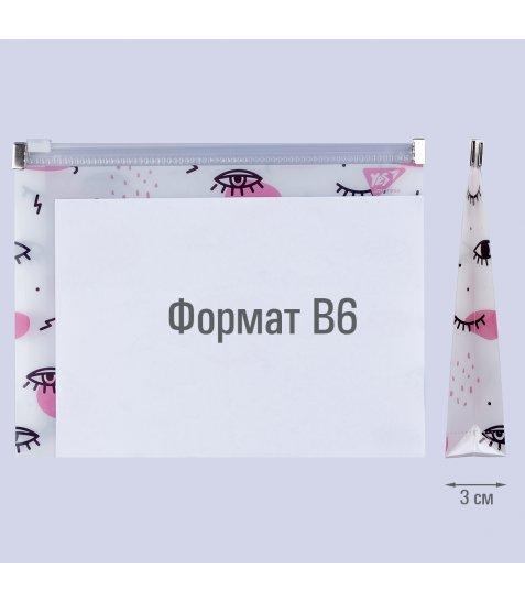 """Папка-конверт YES на блискавцi B6 """"Donna"""" - фото 3 з 3"""