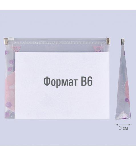 """Папка-конверт YES на блискавцi B6 """"Hotch Potch Forte"""""""