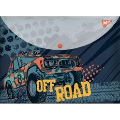 """Папка-конверт YES на кнопці А4 """"Of Road"""""""