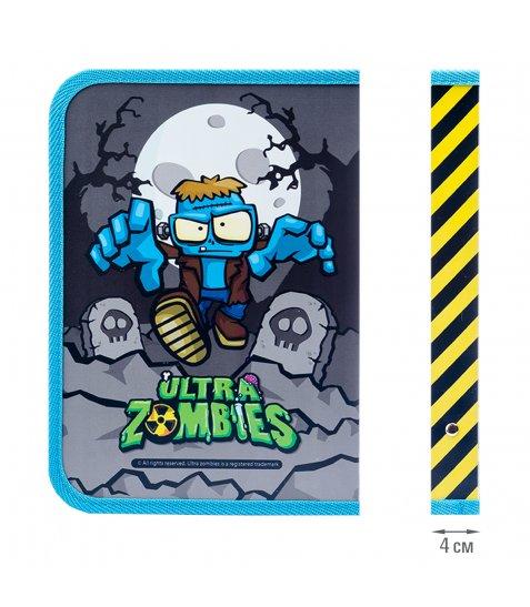 """Папка для зошитів YES пласт. на блискавки В5 """"Zombie"""""""